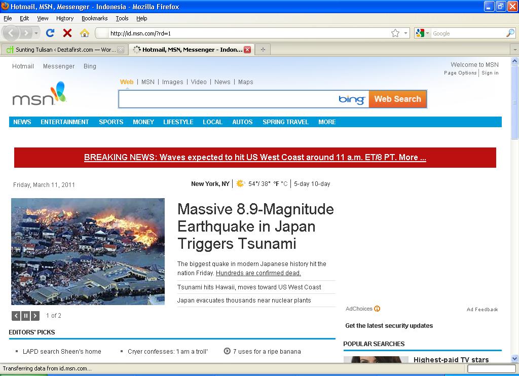 Download MSN default homepage & Bing default search engine ...
